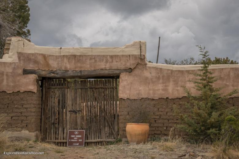 historic fort in Pinos Altos New Mexico - ExplorationVacation.net