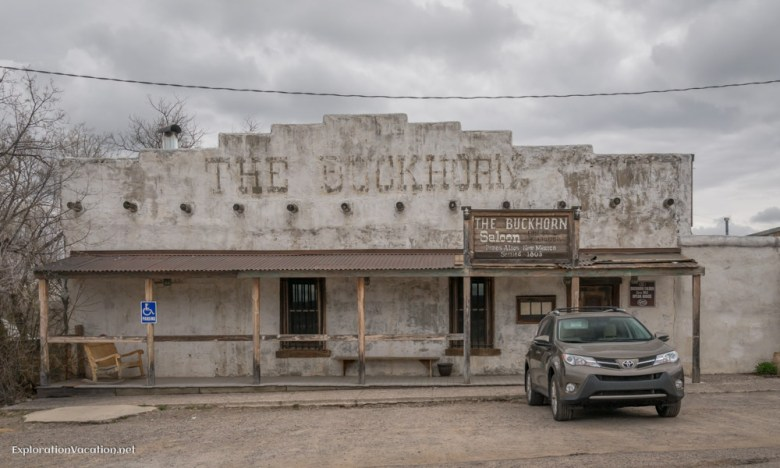 historic bar in Pinos Altos New Mexico - ExplorationVacation.net
