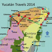 Our 2014 Yucatán Itinerary