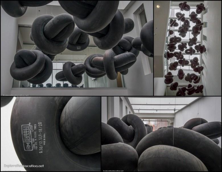 Rochester Center for Art Minnesota 18 - ExplorationVacation - innertube clouds collage