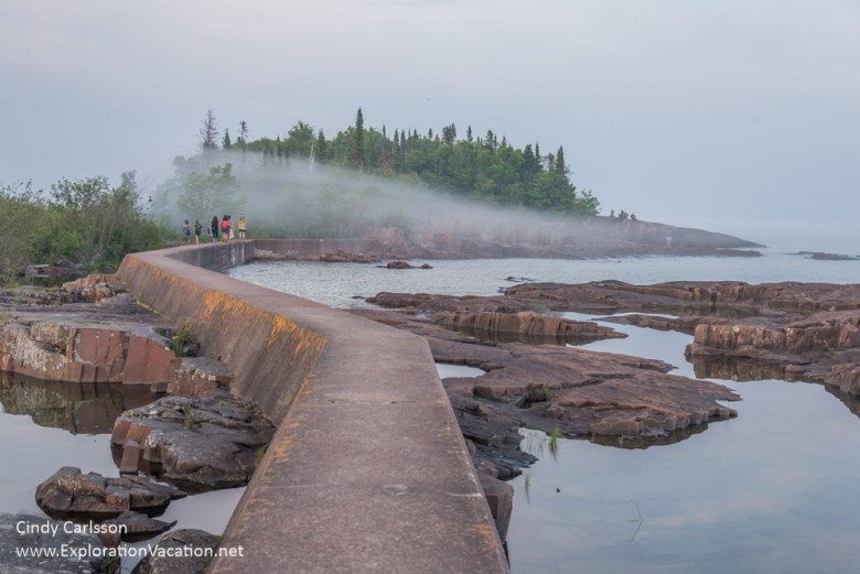 evening at Artist's Point Grand Marais Minnesota - ExplorationVa
