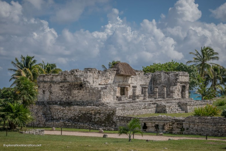 house of the halach uinic Tulum ruins Mexico