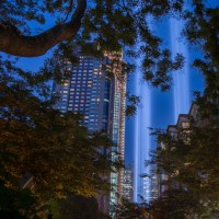 9-11Tribute Lights NYC