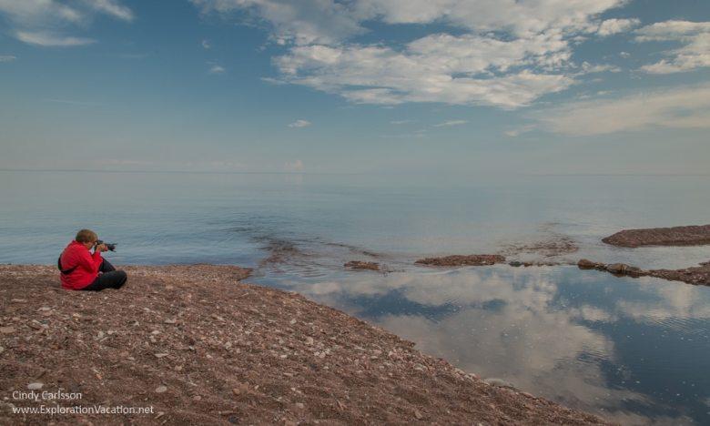 Lake Superior at the Kadunce River