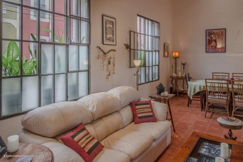 formal living room - house tour in Merida