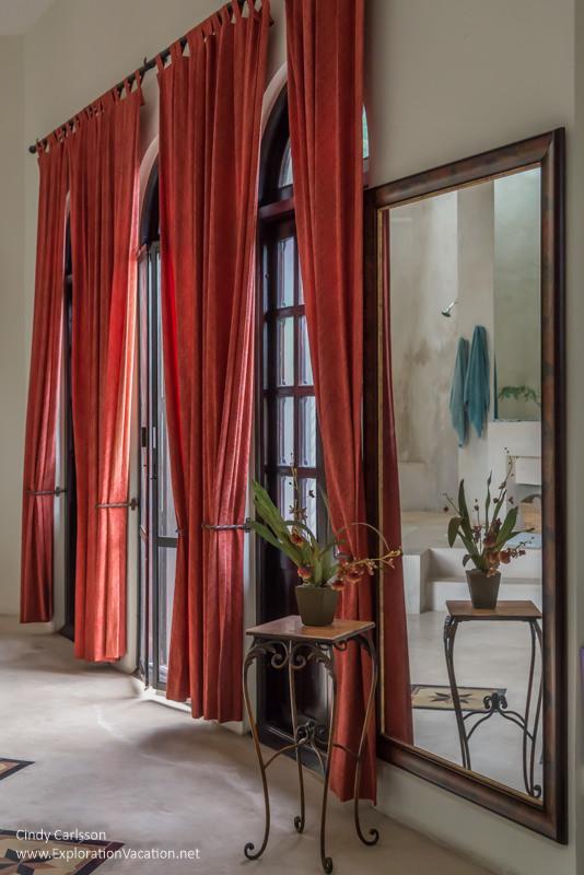 master bedroom La Calle Escondida Merida