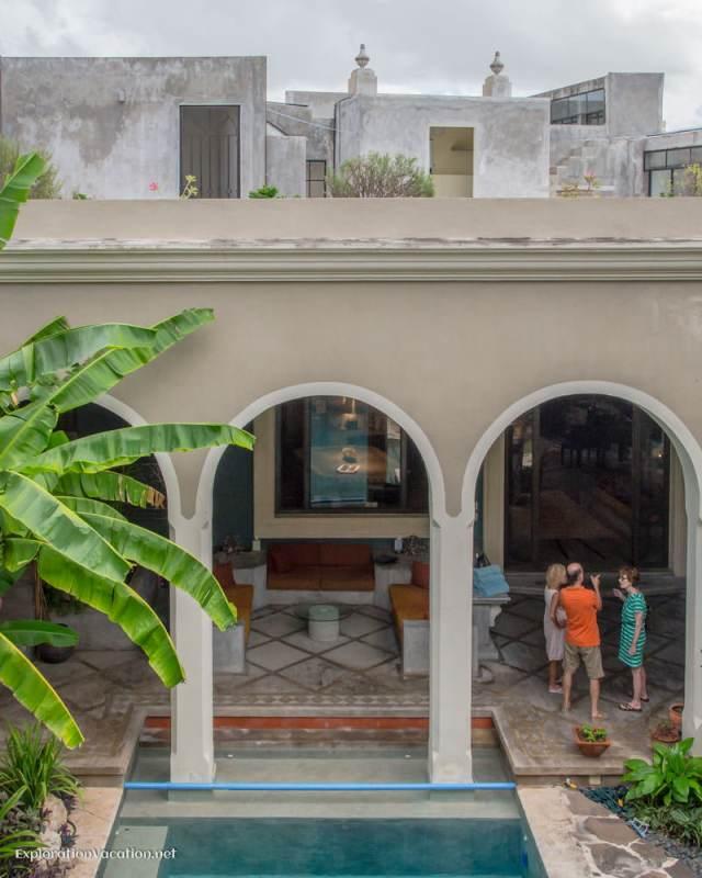 view from the master bedroom La Calle Escondida Merida