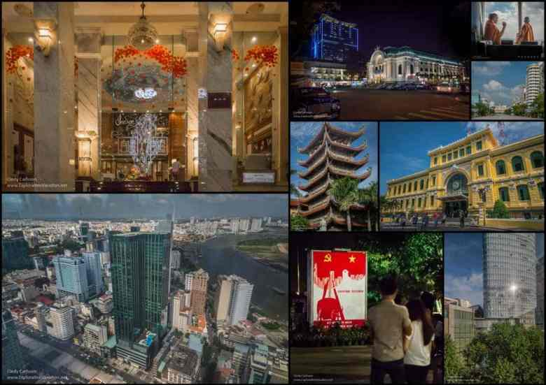 Saigon Vietnam mosaic 2