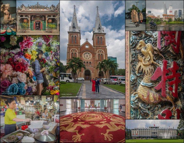 Saigon Vietnam mosaic 1