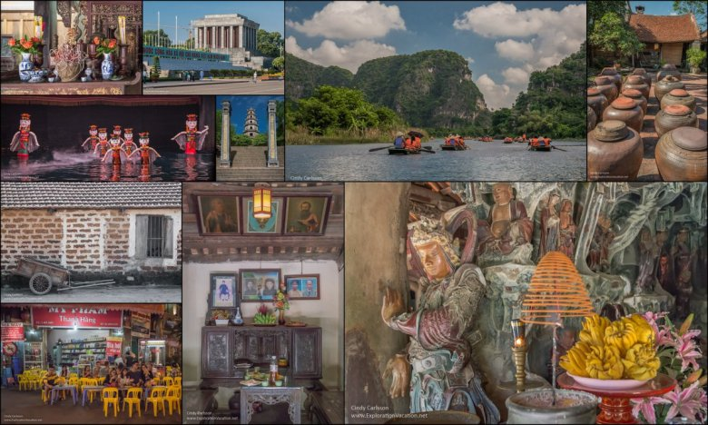 collage of Hanoi and around