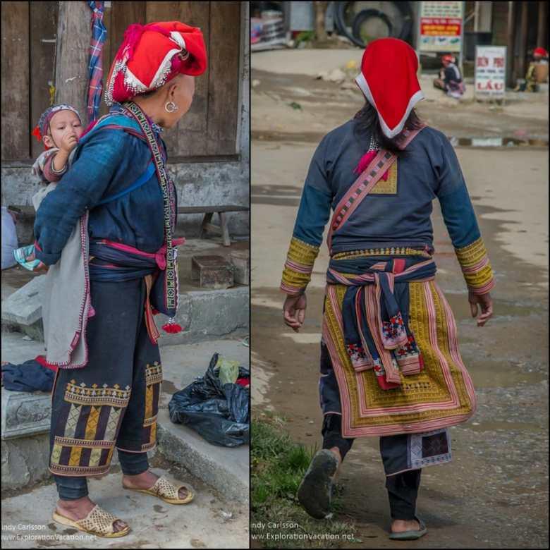 Red Dao women TaPhin village
