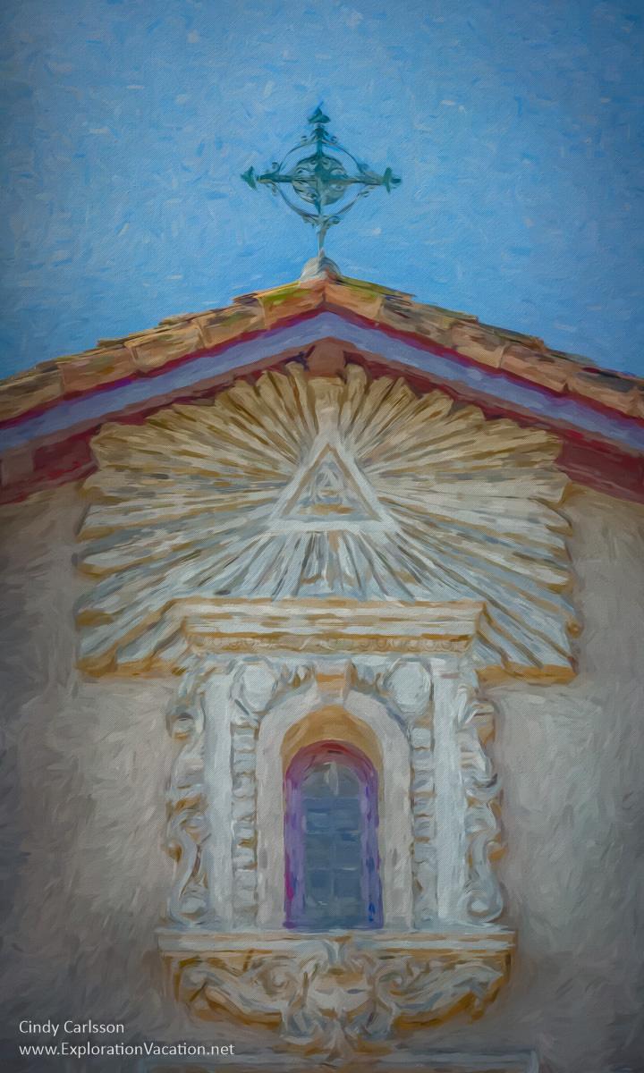 The beautiful church of Mission Santa Clara sits at the heart of Santa Clara University - ExplorationVacation