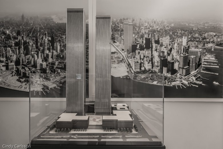 model of Twin Towers