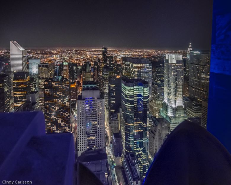 NYC at night from the Top of the Rock