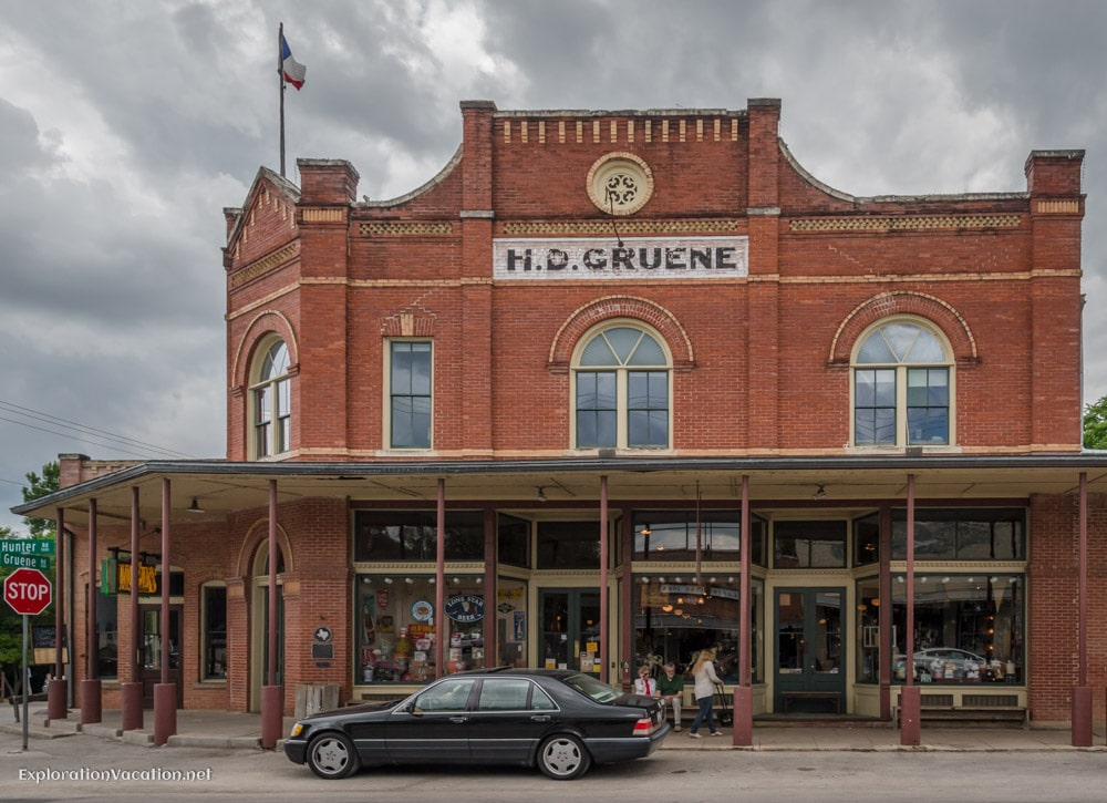 A brief tour of historic Gruene, Texas