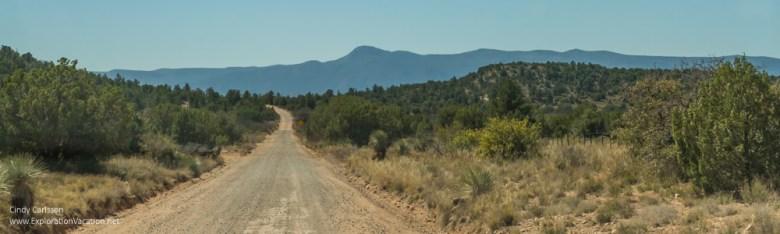 landscape aroud V Bar V petroglyphs Arizona ExplorationVacation