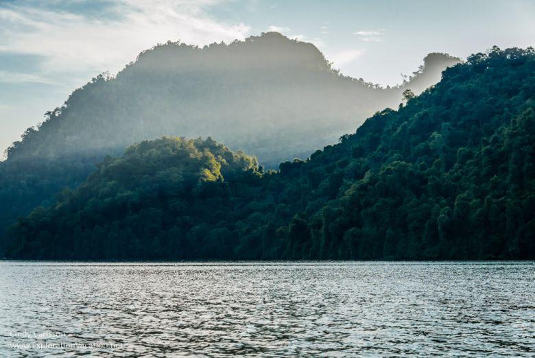 dusk at Ba Be Lake Vietnam - ExplorationVacation