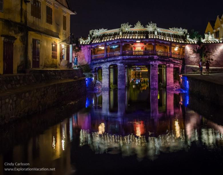 Ancient Japanese bridge in Hoi An Vietnam - ExplorationVacation.net