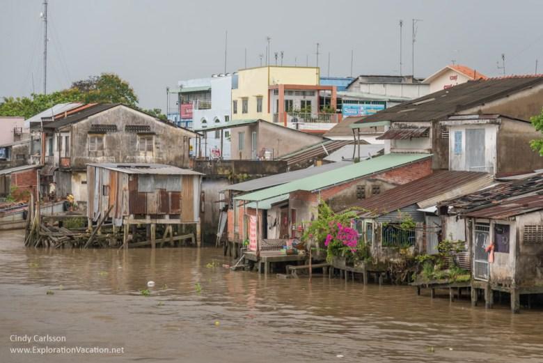 town Mekong Delta Vietnam - ExplorationVacation.net
