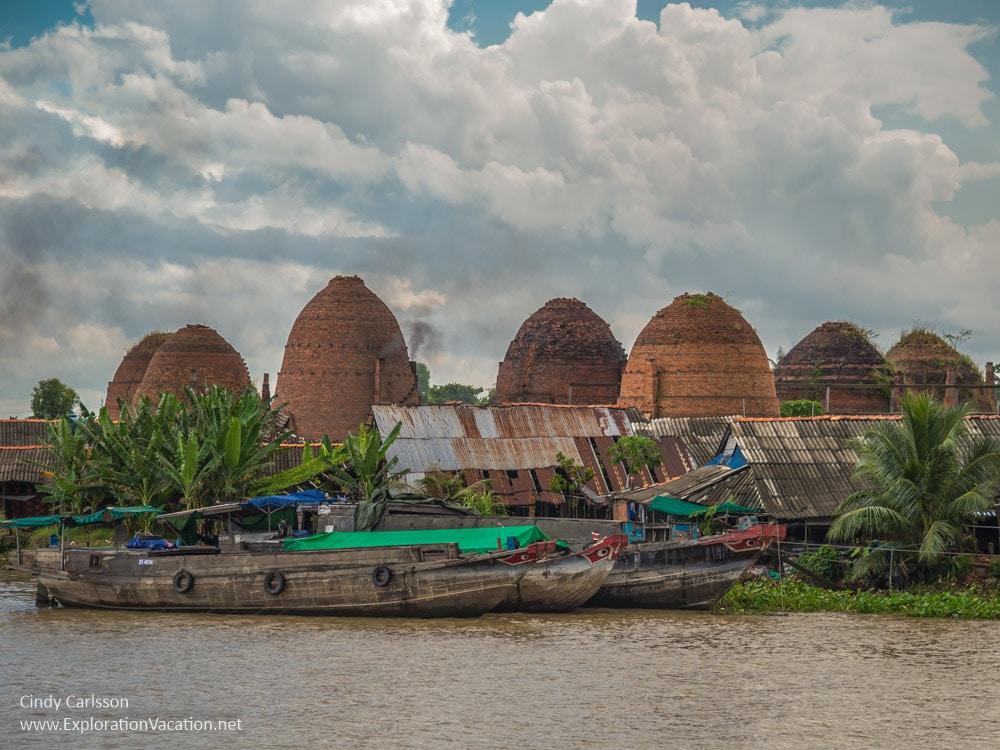 Giant beehive kilns in Vietnam