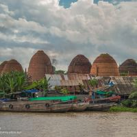 Brick kilns Mekong Delta Vietnam - ExplorationVacation.net