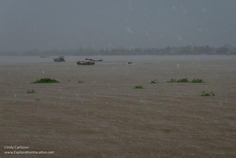 rain Mekong Delta Vietnam - ExplorationVacation.net
