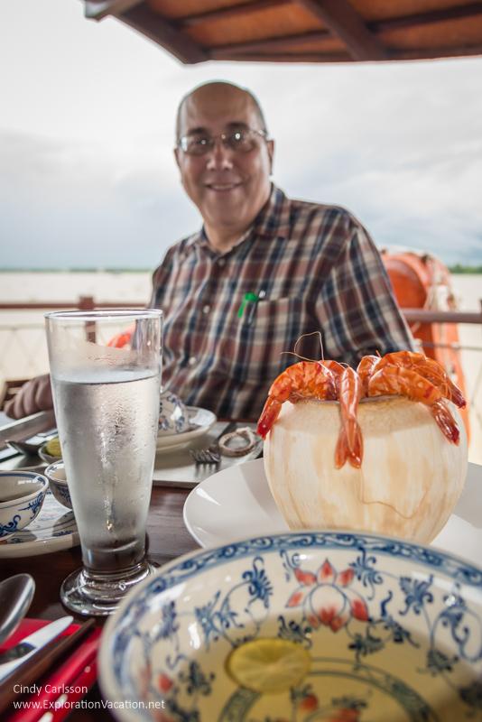 lunch Mekong Delta Vietnam - ExplorationVacation.net