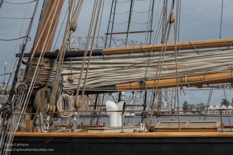 Rigging Duluth Tall Ship Festival - www.ExplorationVacation.net