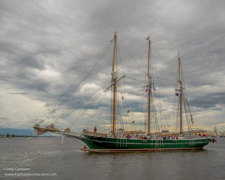 Duluth Tall Ship Festival - Schooner Denis Sullivan - www.ExplorationVacation.net