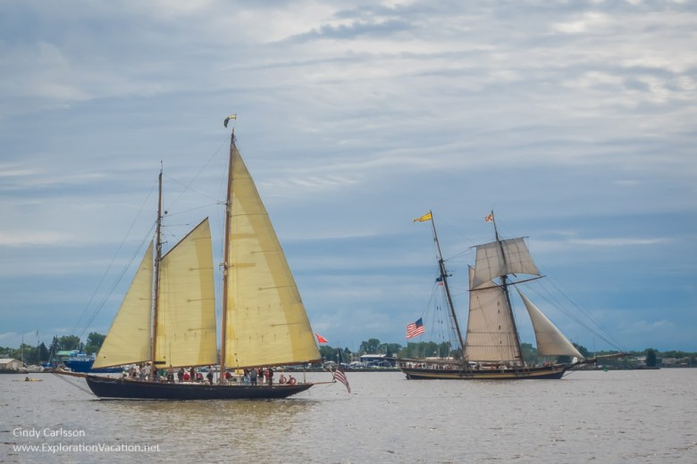 Duluth Tall Ship Festival - When & If and Pride of Baltimore II - www.ExplorationVacation.net