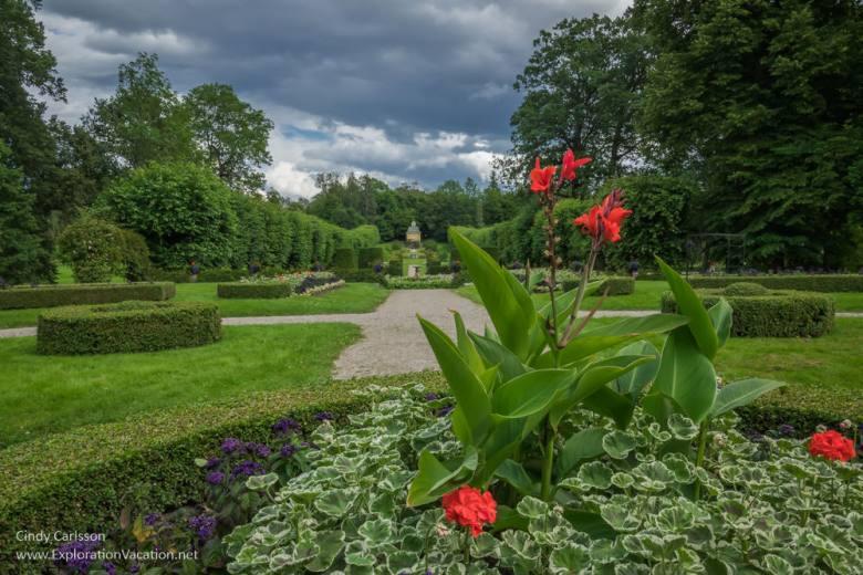 garden Julita Manor Sörmland Sweden - www.ExplorationVacation.net