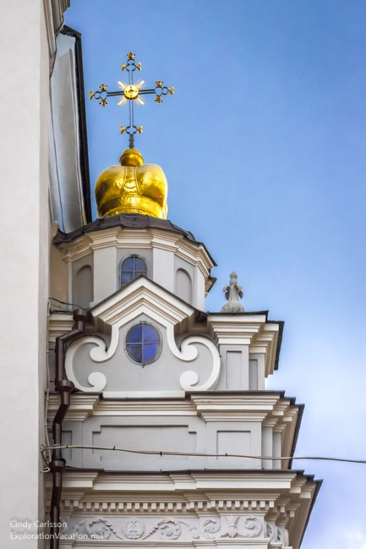 architectural details Vilnius Lithuania Old Town - www.ExplorationVacation.net