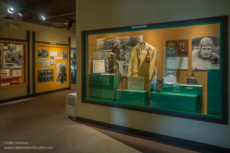 Bronko Nagurski museum International Falls Minnesota - www.ExplorationVacation.net