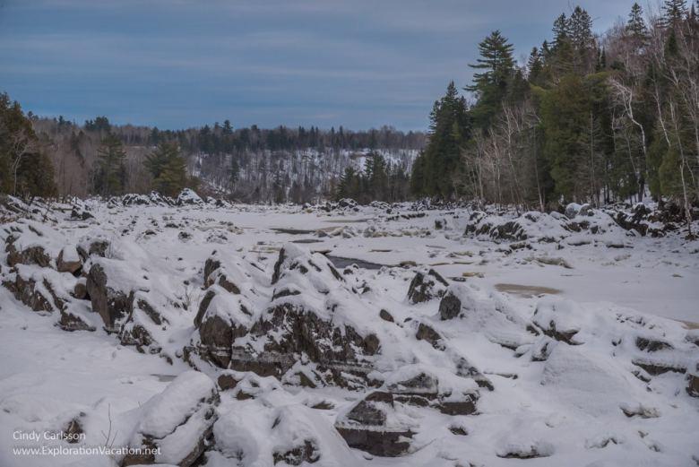 Winter in Minnesota's Jay Cooke State Park - www.ExplorationVacation.net