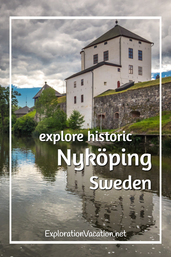 Along the river on a stroll through historic #Nyköping #Sweden - ExplorationVacation #VisitSweden #VisitSörmland #sponsored