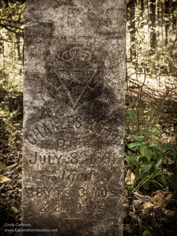 Thomson Cemetery, Jay Cooke State Park - www.explorationvacation.net