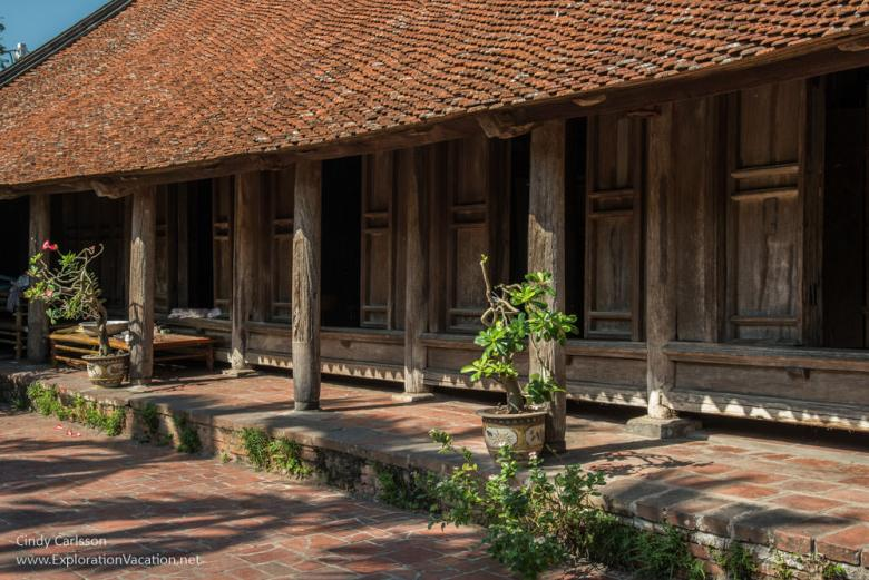 Duong Lam ancient village Vietnam - www.ExplorationVacation.net