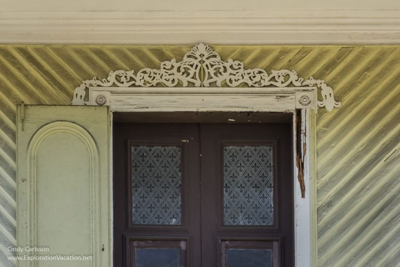doorway historic buildings in San German Puerto Rico - www.ExplorationVacation.net