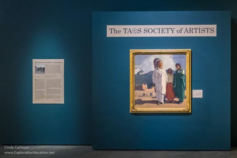 Ernest L. Blumenschein - The Chief Speaks 1917 Taos Society of Artists at Arizona's Western Spirit Scottsdale - www.ExplorationVacation.net