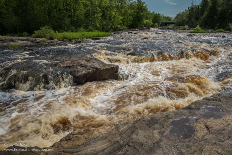 Big Falls on the Big Fork River Minnesota - www.ExplorationVacation.net