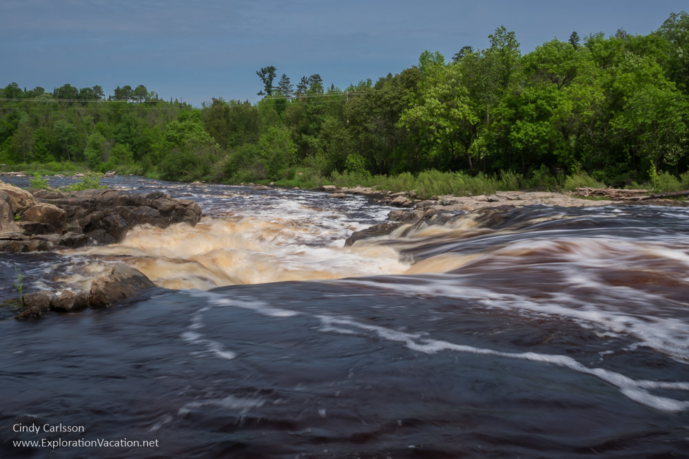 Big Falls on the Big Fork, Minnesota