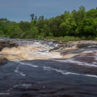 Big Falls on the Big Fork River Minnesota - www.ExplorationVacation.net