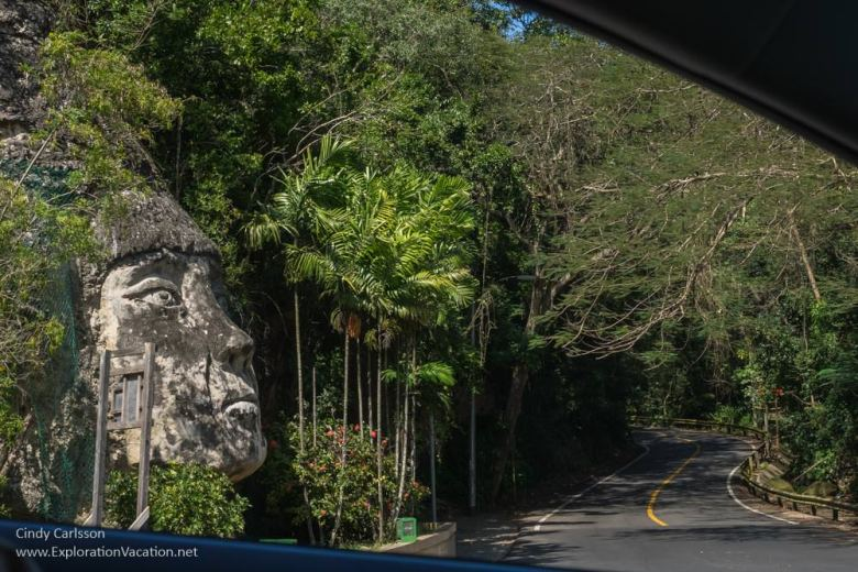Along the road in Puerto Rico -www.ExplorationVacation.net