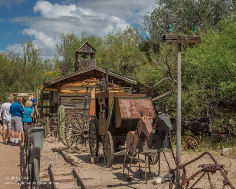 Tortilla Flat Arizona Apache Trail Historic Highway road trip - www.explorationvacation.net