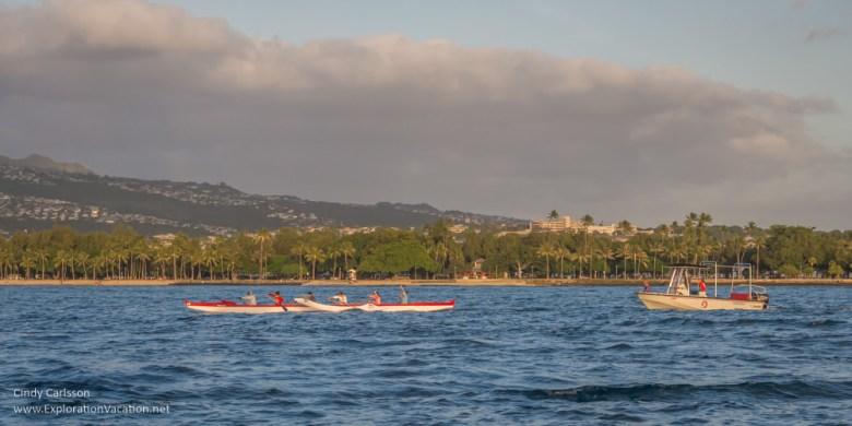 Photo of Waikiki Beach in Honolulu by ExplorationVacation.net