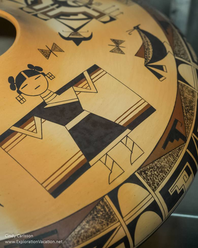 Garrett Maho Hopi pottery masterworks at Western Spirit Scottsdale's Museum of the West in Arizona - ExplorationVacation.net