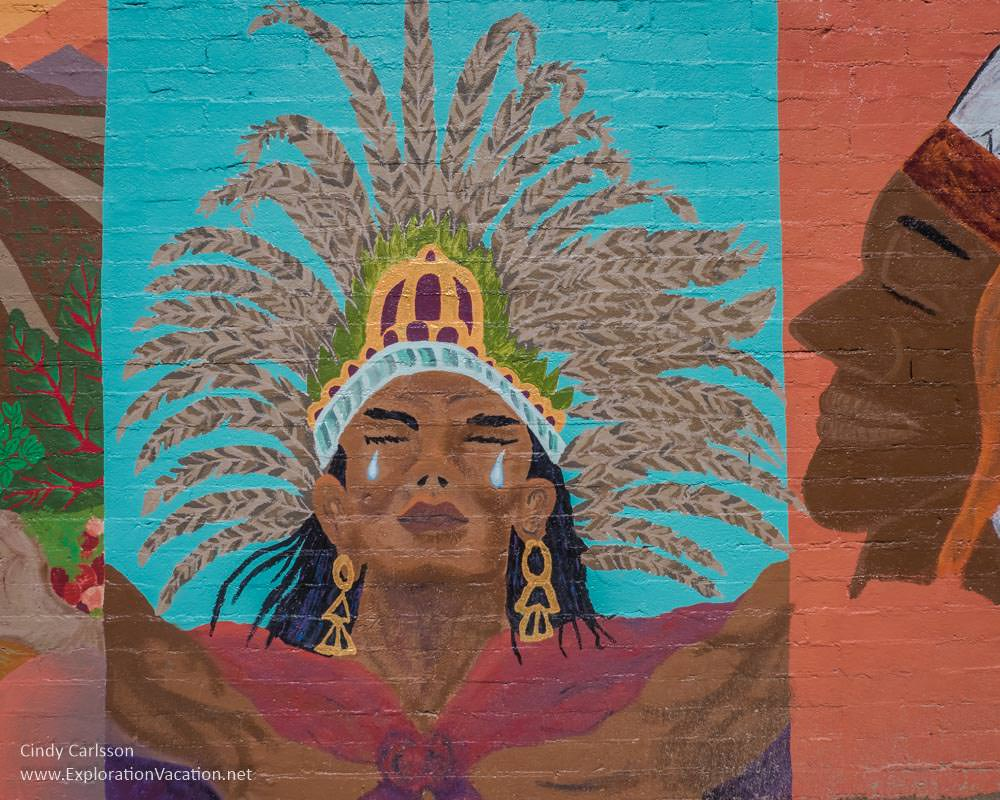 Discover street art in Ajo, Arizona