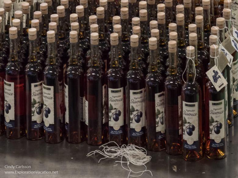 Bottles of Slivovice