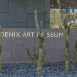 Sign at the entry to the Phoenix Art Museum