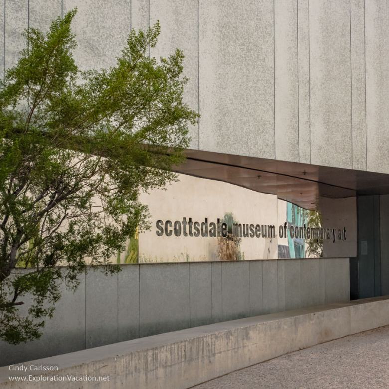 Entrance to the Scottsdale Museum of Contemporary Art